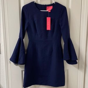 Navy Lilly Pulitzer dress, NWT